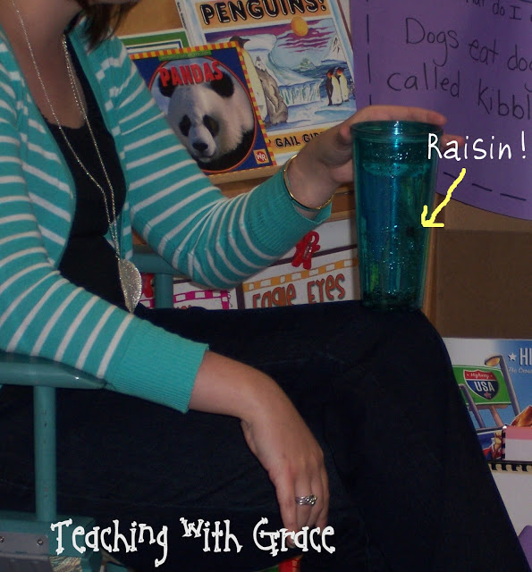 Dancing Raisin Experiment - Top 20 Kindergarten Teaching Ideas to Try Right Now