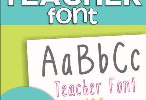 KindergartenWorks: 4 free fonts for teachers