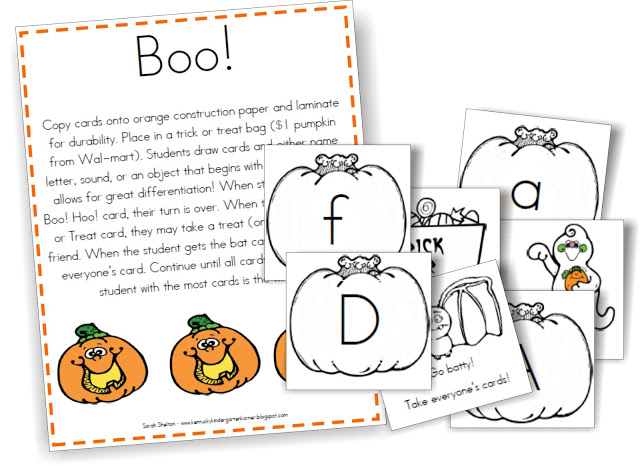 KindergartenWorks: Alphabet Identification - 6 Guided Reading Skill Group Materials {Free Printables}
