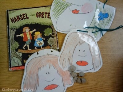 retell literacy center activity - Hansel and Gretel