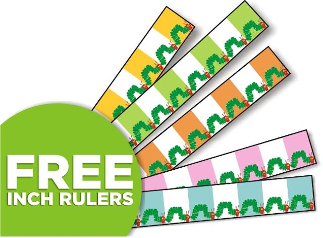 KindergartenWorks: free measuring booklet and rulers for Kindergarten - K.MD.1, K.MD.2