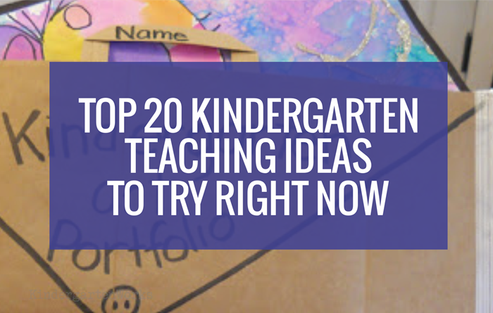 Clever Top 20 Kindergarten Teaching Ideas