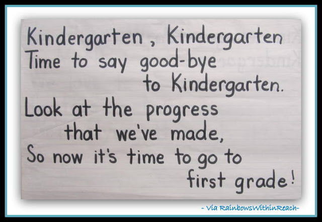 End of the year kindergarten poem - Top 20 Kindergarten Teaching Ideas to Try Right Now