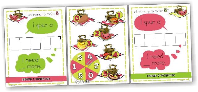 KindergartenWorks: making 5 fluency ideas and games
