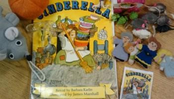 retell literacy center activity - Cinderella