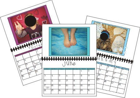kindergarten activity – Holiday calendars