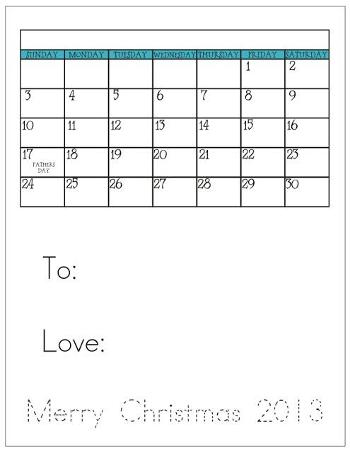 KindergartenWorks: kindergarten activity - Holiday calendars