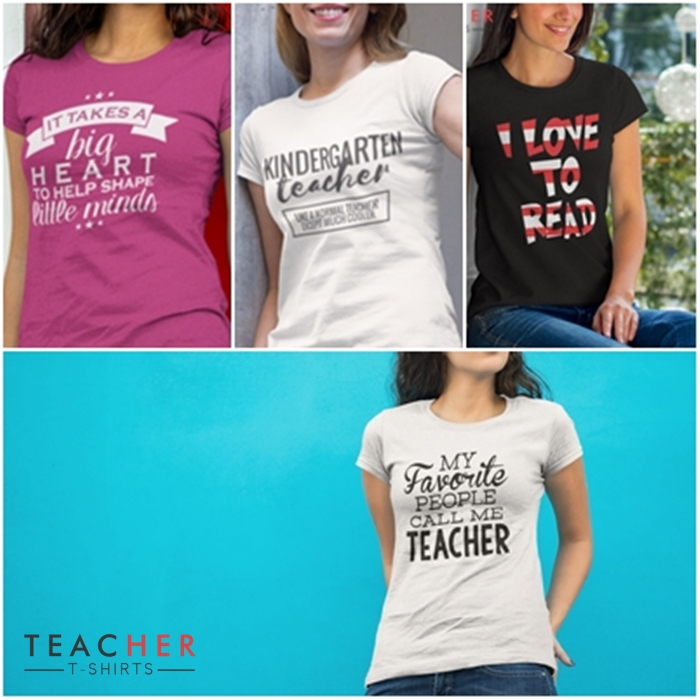 Cute teacher shirts - I love these