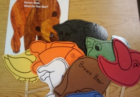 retell literacy center activity - Brown Bear, Brown Bear, What Do You See
