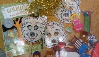 retell literacy center activity - Goldilocks and the Three Bears