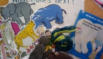 retell literacy center activity - Polar Bear, Polar Bear, What Do You Hear?