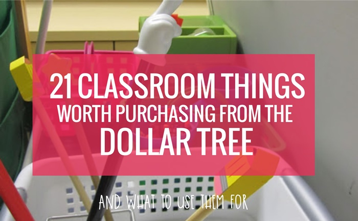 I love these 21 Classroom Things Worth Purchasing From the Dollar Tree