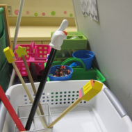 What's Behind My Teacher Easel?