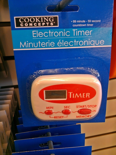 21 Classroom Things Worth Purchasing from the Dollar Tree - Oh, am I considered old-school for having a timer in my classroom? I use a timer on my phone for everything related to keeping me reminded of specials {yes, seriously I lose track of time}. But I purchase a few of these in order to have my students give themselves a time out. It's part of our classroom management plan, that if they have already had one think card and still haven't gotten back on track, then they obviously need more time to get it together. They learn to use the start/stop button (which I always have pre-set to 5 mins) and take the time to reflect on their choices.