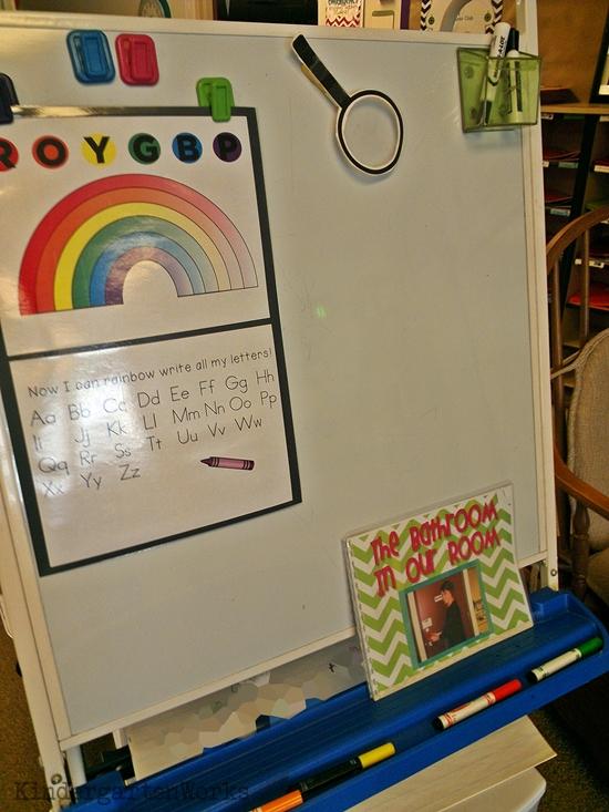 Kindergarten First Day - Setup Snapshots
