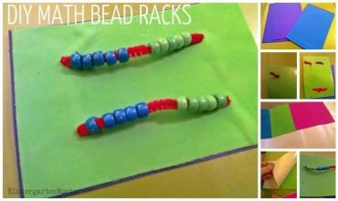 how to make a math material bead rack {tutorial} - KindergartenWorks