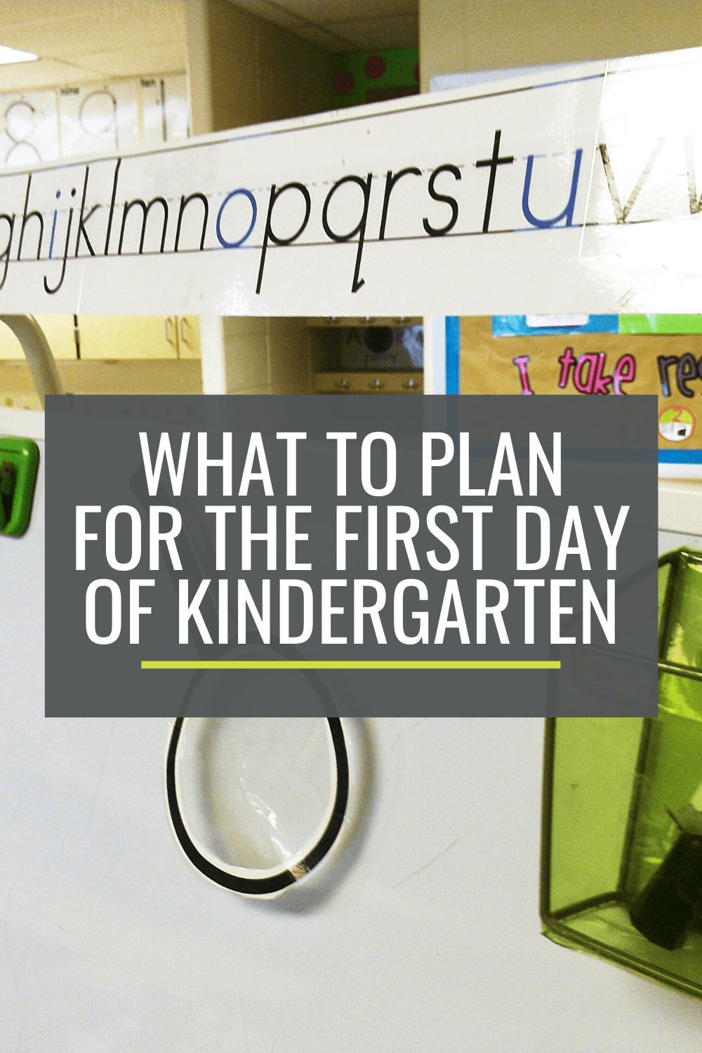 What to Plan for the First Day of Kindergarten