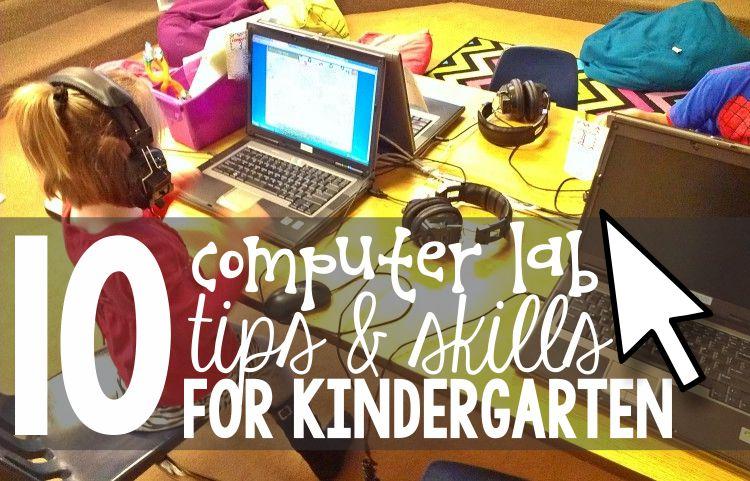 kindergarten computer lab plans