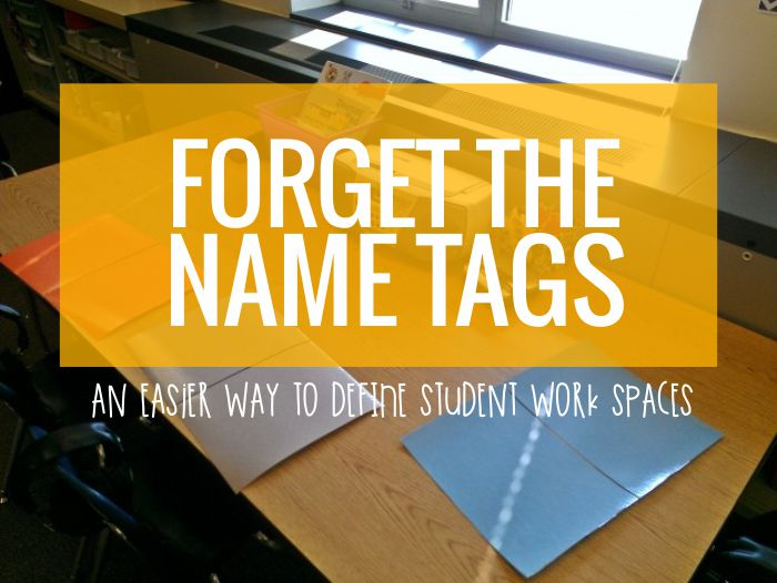 Create student work spaces instead of using traditional seats