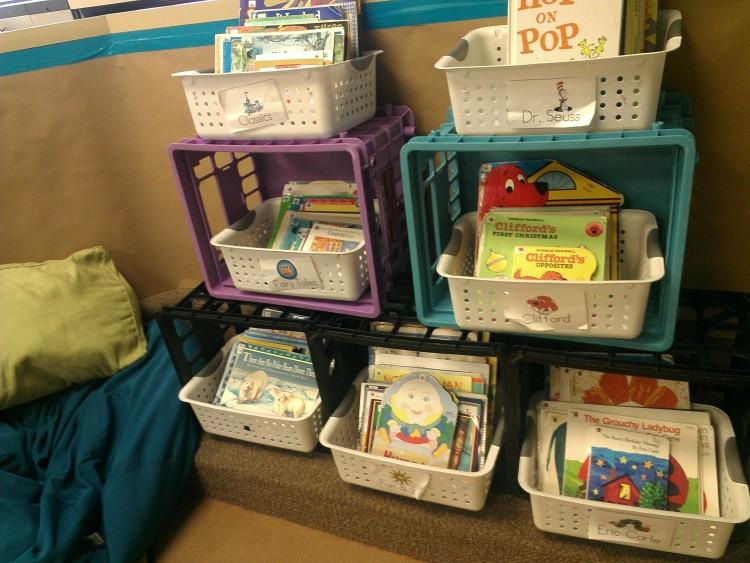 library literacy center - KindergartenWorks