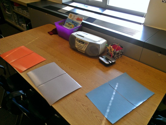 student work spaces instead of student name tags - KindergartenWorks