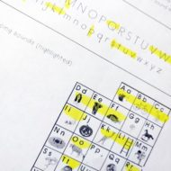 Free Letter Identification and Sound Production Progress Report