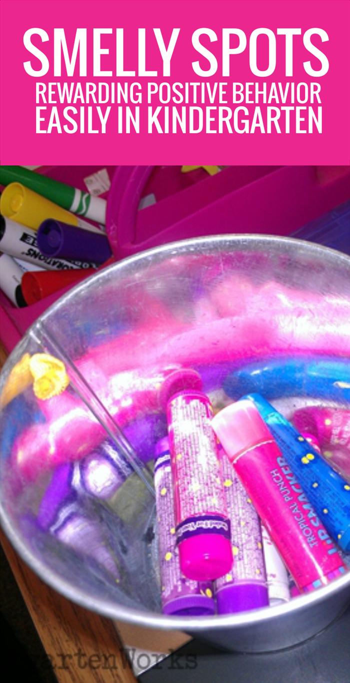 Smelly Spots - simple positive behavior recognition in kindergarten