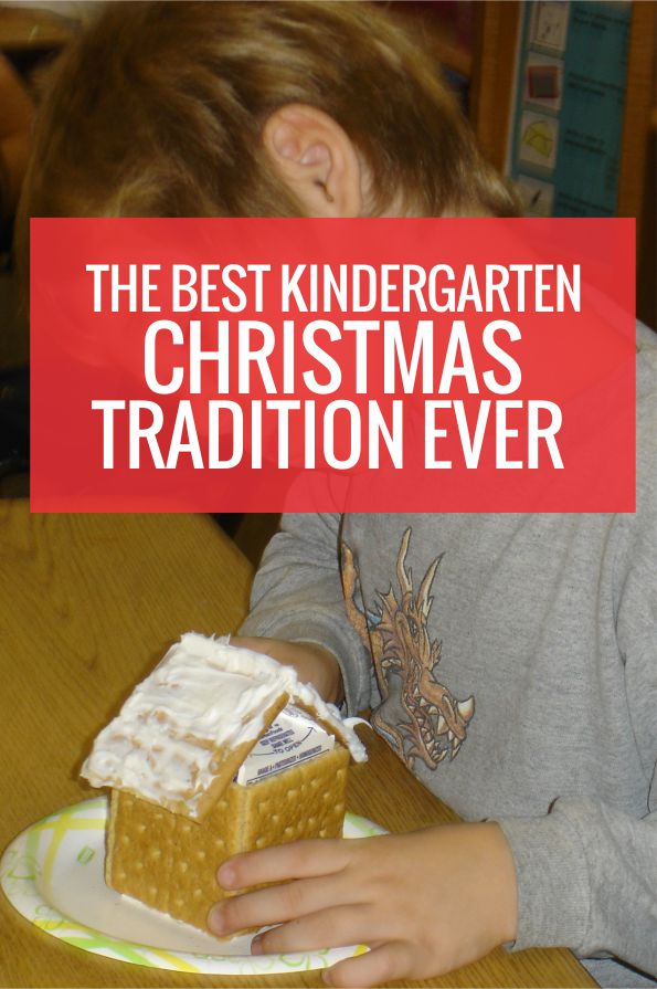 The Best Kindergarten Christmas Tradition EVER - I want to do this