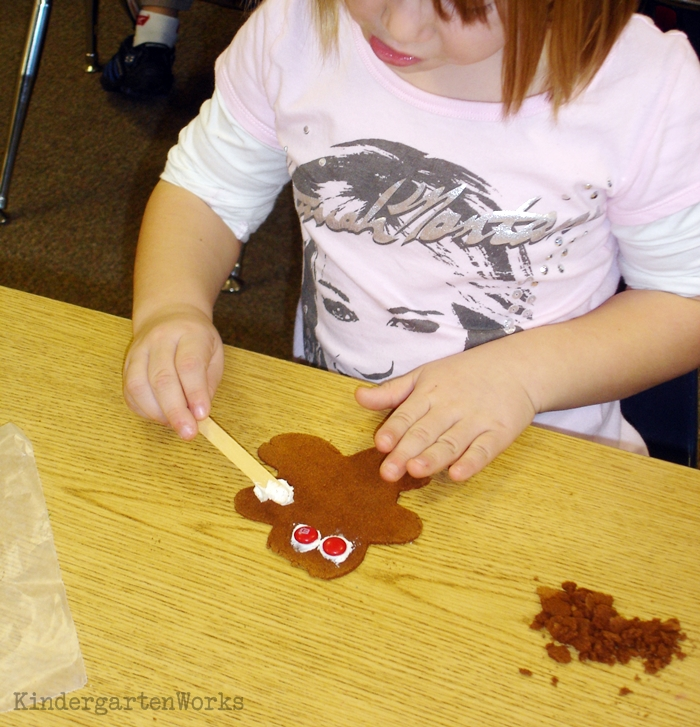 The Best Kindergarten Christmas Tradition EVER - Making gingerbread cookies come alive