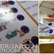 Classroom Jobs for Kindergarten {Free Printable}