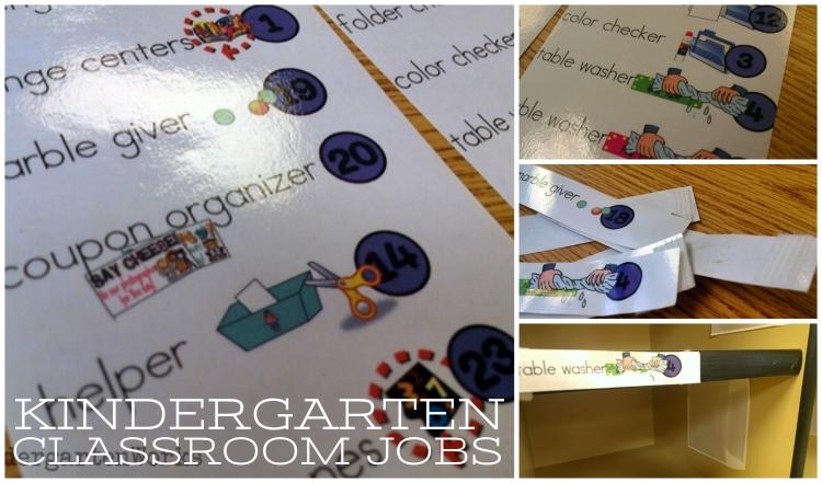 KindergartenWorks :: Classroom Jobs for Kindergarten {Free Printable}