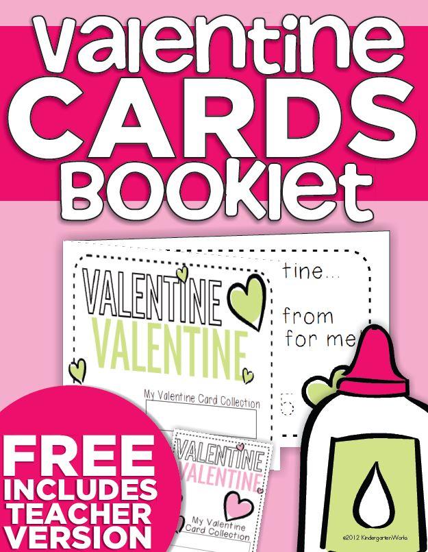 Valentine Card Collection Keepsake Book {Printable}