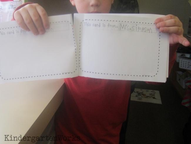 Valentine Card Collection Keepsake Book {Printable} Filling Out Names KindergartenWorks