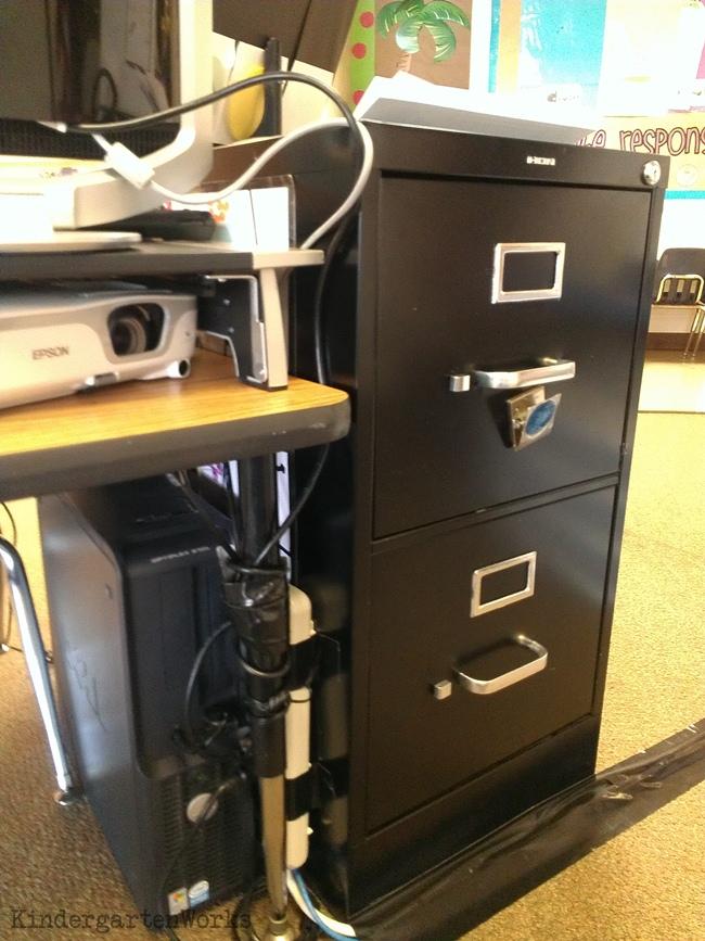 Document Camera and Projector Setup & Organization - KindergartenWorks