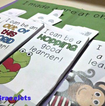 PBIS Sweet Behavior Bracelets {Printable} KindergartenWorks