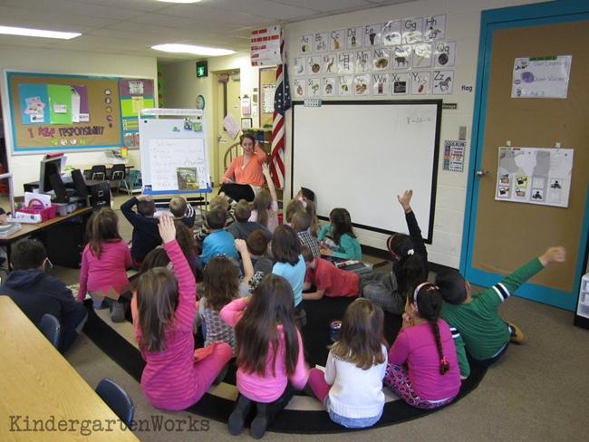 A Day in the Life of a Kindergarten Teacher