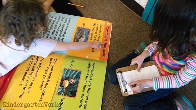 Your kinders are under the tables {alternative seating} KindergartenWorks