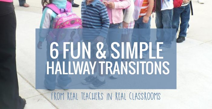 Hallway Transitions for Kindergarten
