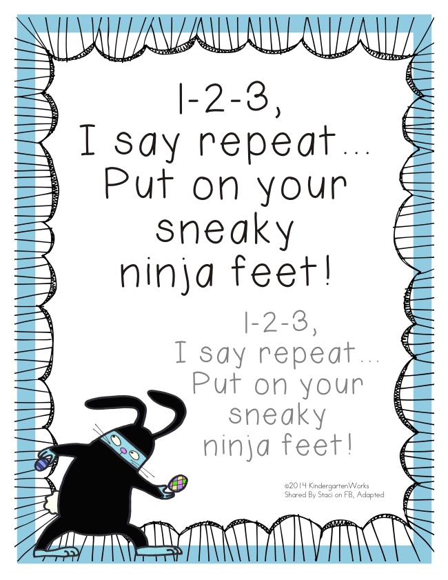 6 Fun and Simple Hallway Transitions - KindergartenWorks