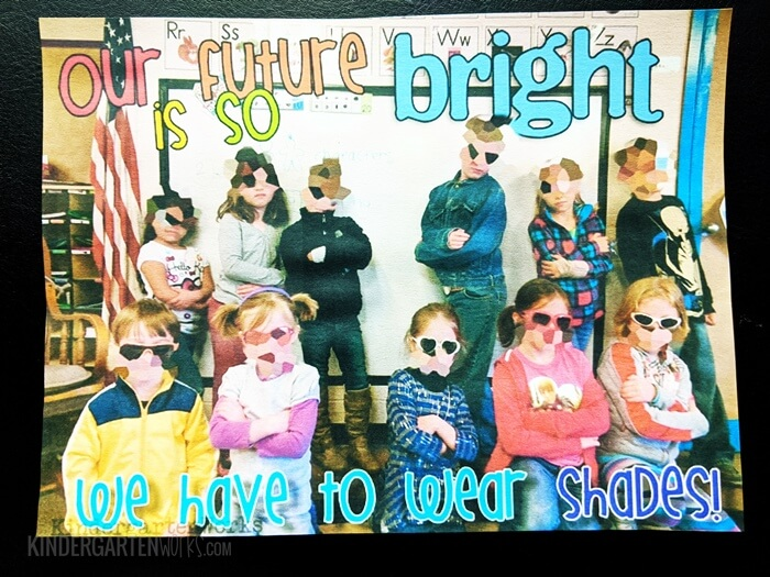 Our future is so bright we have to wear shades