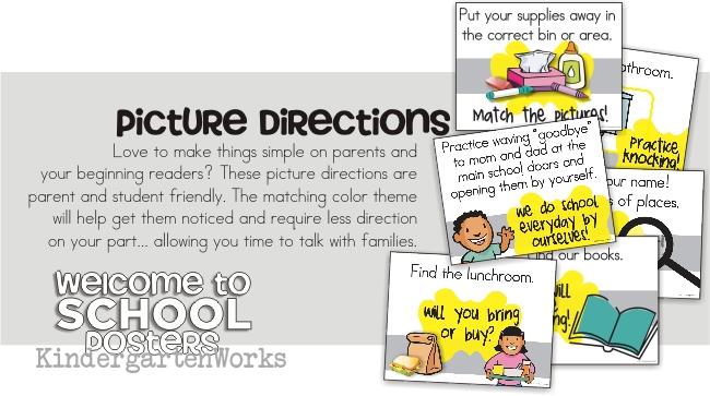 KindergartenWorks :: back to school teacher must-have posters