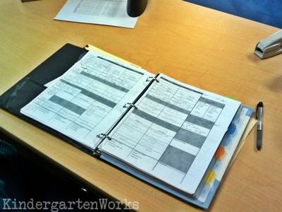 Binder Basics {How to Make a Teacher Planning Binder} KindergartenWorks