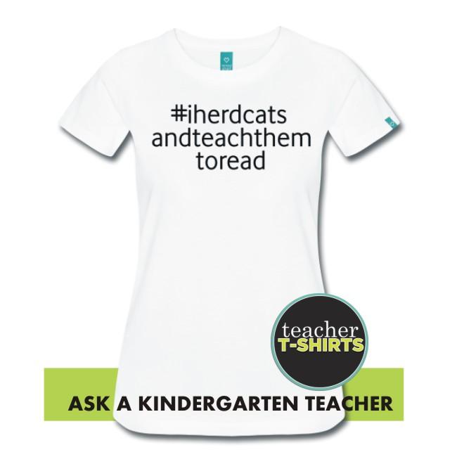 Cute teacher tees - this one is for the kindergarten teachers