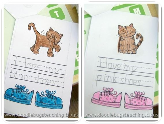 73 Cool Pete the Cat Freebies and Teaching Resources :: KindergartenWorks - I Love My Shoes Book