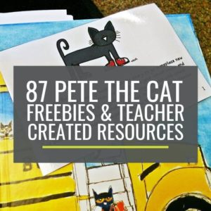 Who doesn't love Pete the Cat and free? These are awesome for kindergarten!