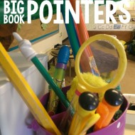 Easy and Inexpensive FUN Big Book Pointers (Part 1)