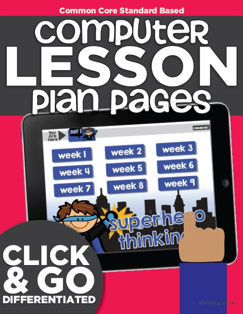 kindergarten computer lab lesson plans - KindergartenWorks
