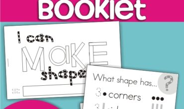 Describing 2D Shapes Mini Booklet {Printable}