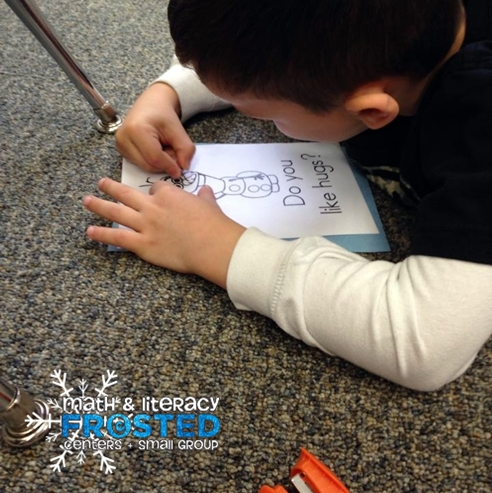 Frosted Sight Words Pokey Pinning :: KindergartenWorks