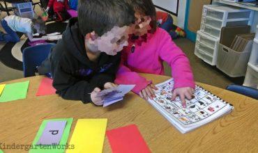 Flash Card Flash With Letter Names - KindergartenWorks